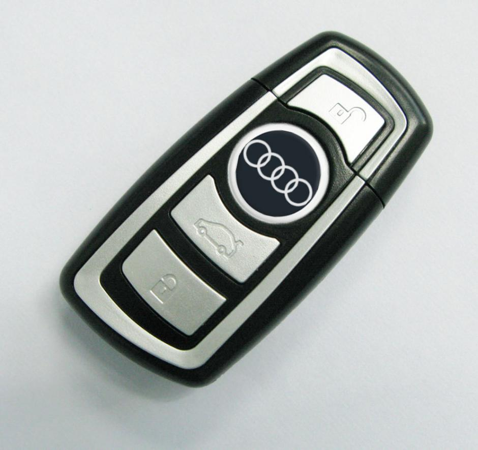 original audi usb stick in schl sselform memory key. Black Bedroom Furniture Sets. Home Design Ideas